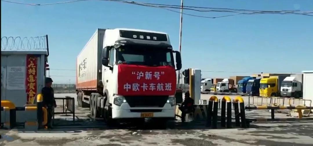 """再创传奇--中国重汽用实力缔造中欧""""卡车航班"""""""